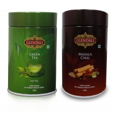 COMBO- MASALA CHAI & GREEN TEA