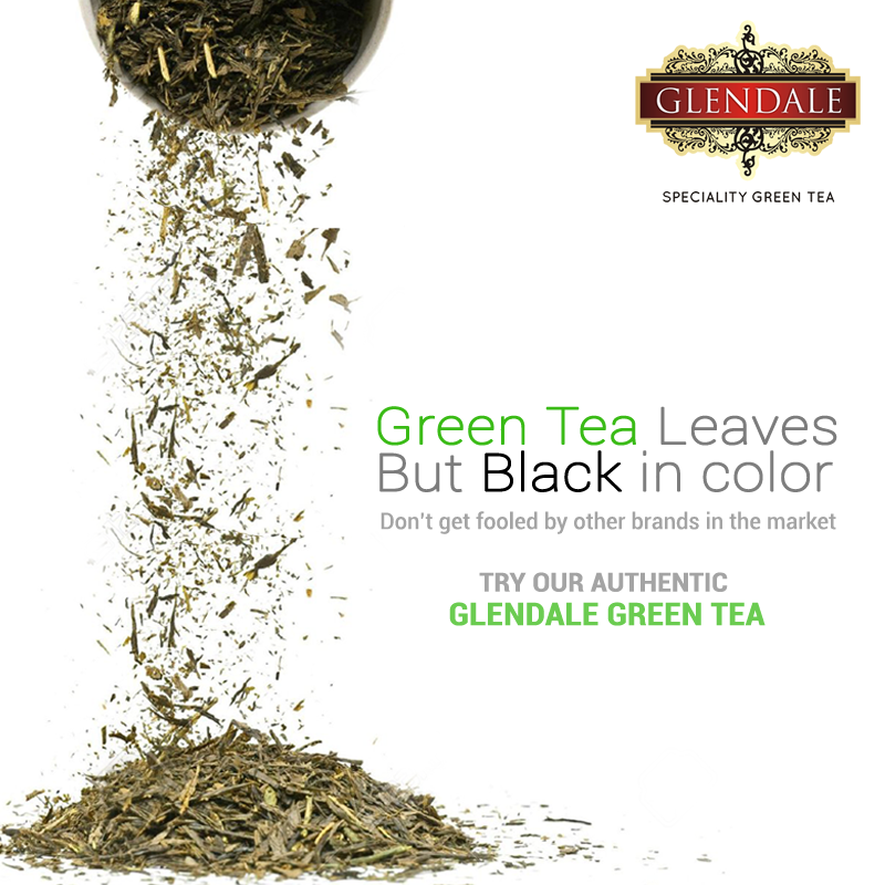 April Fool's Day is incompatible with Glendale Green Tea!